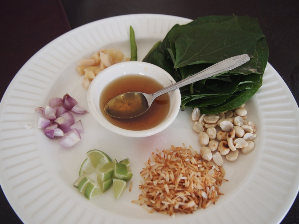 A traditional welcome meal in Thailand - Copyright Jo-Ann Blondin