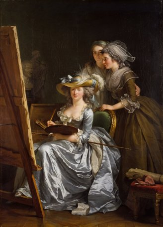 Labille-Guiard,_Self-portrait_with_two_pupils
