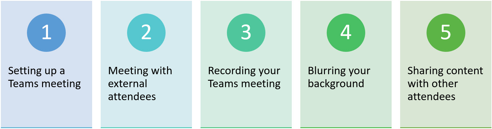 5 Things every Microsoft Teams Meeting Newbie Should Know
