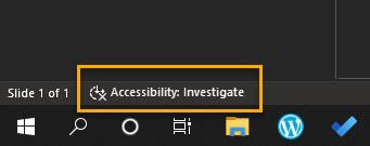 Accessibility checker
