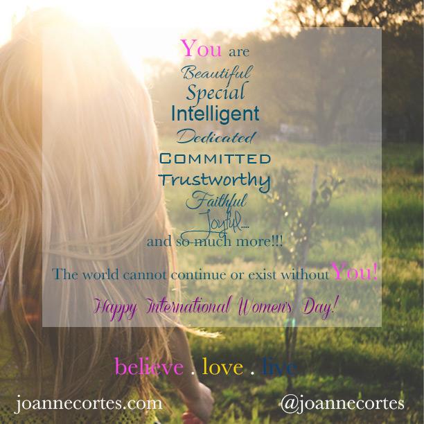 YouareBeautiful-Womensday2015