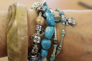 team building stacking bracelets