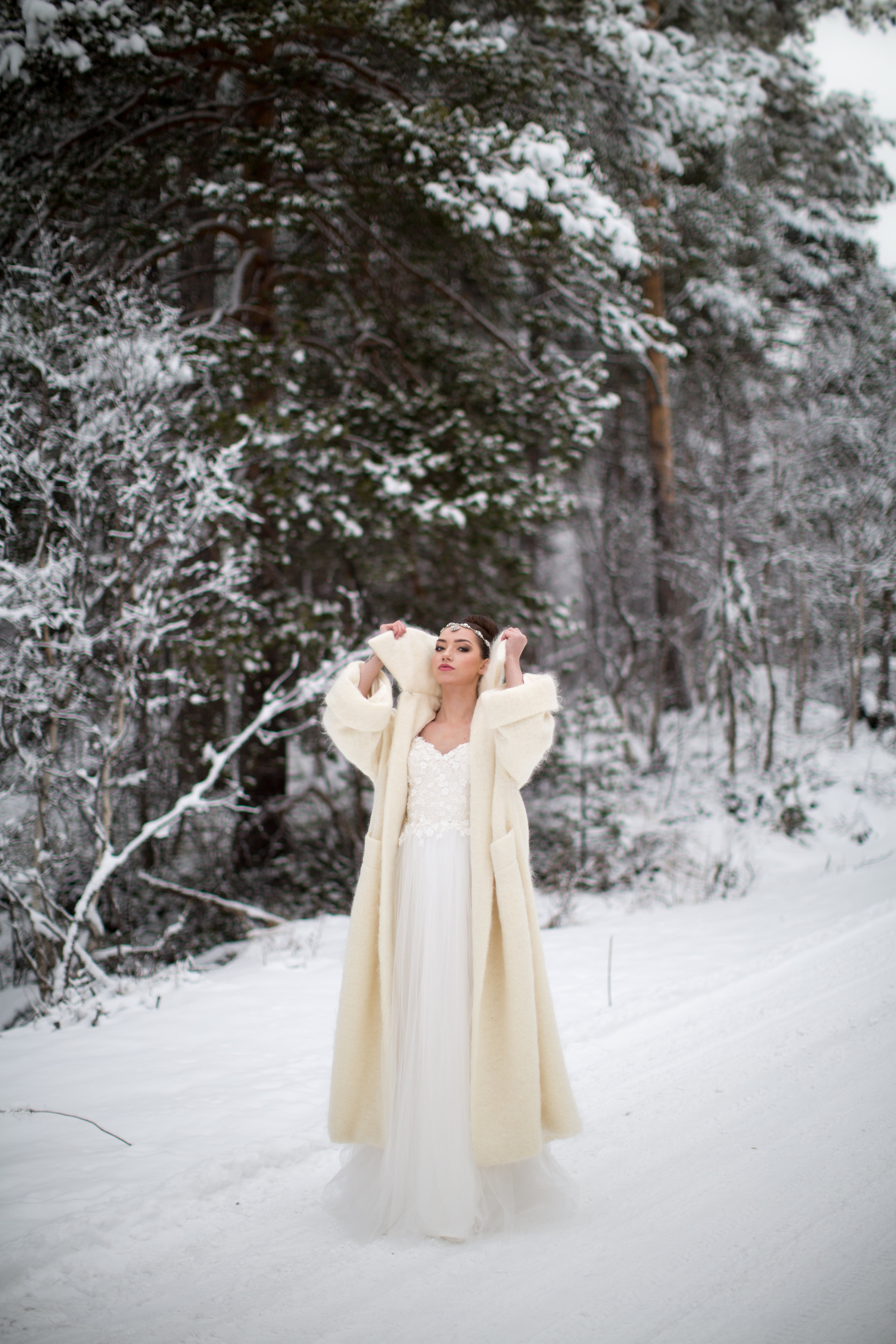 Snowy Winter Wedding Inspiration Shoot In NorwayJoanne
