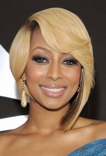 African-American-cute-short-hairstyles-with-side-bangs-for-blonde-hair