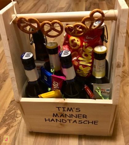 DIY Männer-Handtasche - einfache Männergeschenke