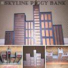 DIY Skyline Piggybank as perfect christmas gift