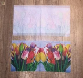 tulip napkins layer for laminated lamps