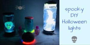 spooky DIY Halloween lights