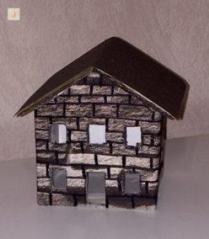 Steinhaus für DIY Weihnachtslaterne