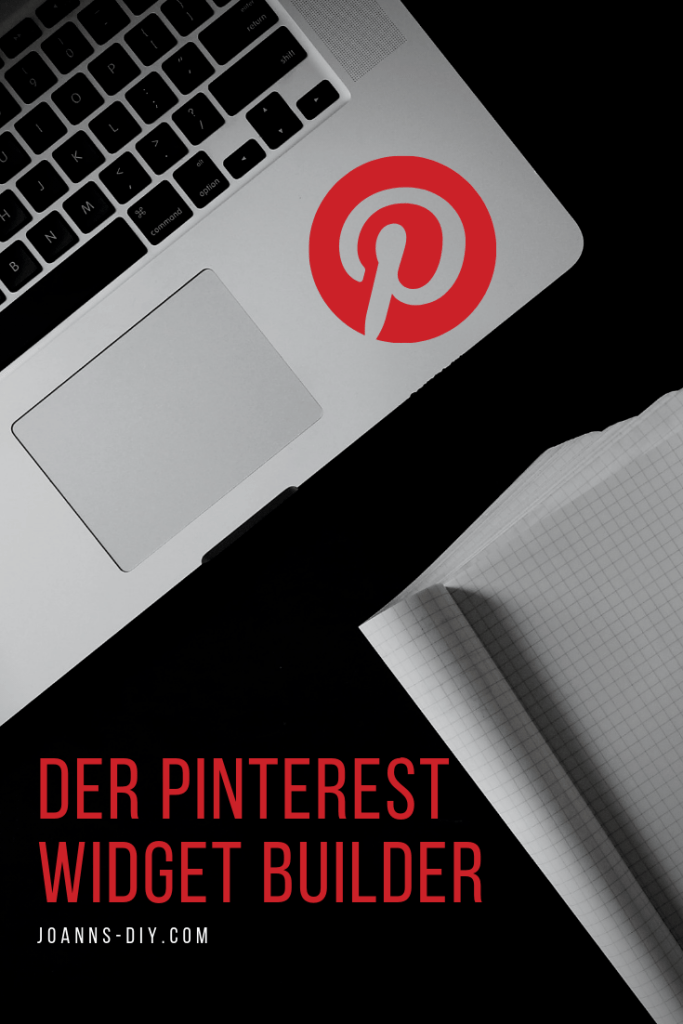 Der Pinterest Widget builder