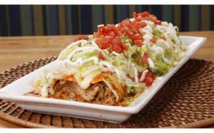 Burrito Supreme from Huey Luey