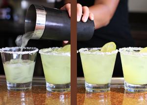 Margaritas from Huey Luey