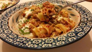 One Skillet Lasagna Weeknight Meal