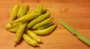 freezing banana peppers