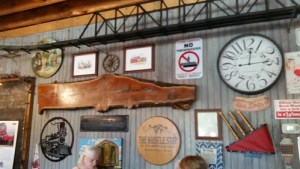 Whistle Stop Cafe decor