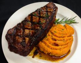 Mesquite Smoked New York Strip Appalachian Grill