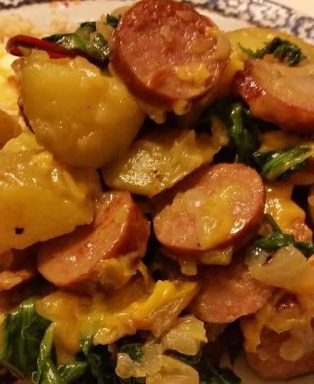 Potato Sausage Hash