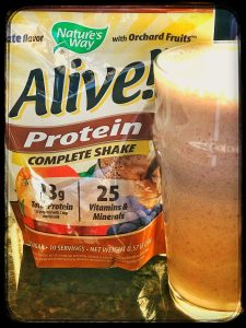 Alive Protein Shake Mix