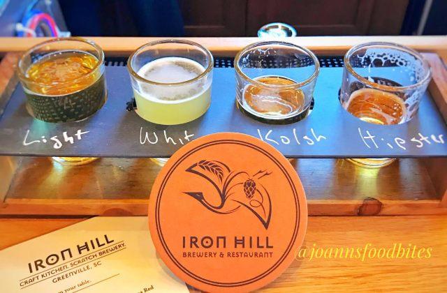 Iron Hill Brewery Sampler