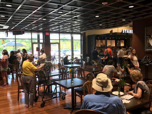 Harris Teeter Tavern and Startbucks at the Greenville location