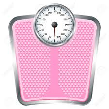 Weight loss plan scale