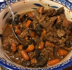 Beef Marsala Stew