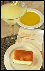 Limoncello signature cocktail during the foothill foodie tour