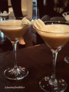 Pumpkin cocktail at Encore Gastrolounge