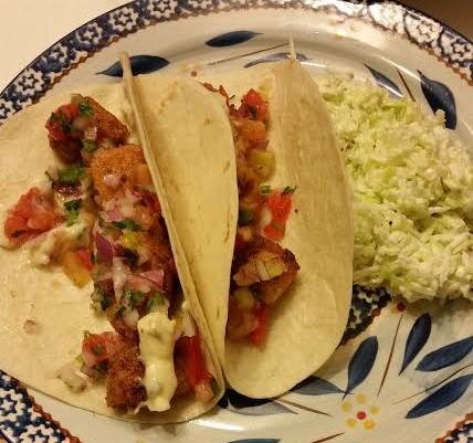 100 Days of Real Food Fish Taco Recipe