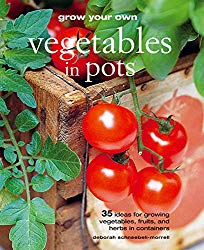 Book cover Grow Your Own Vegetables in Pots