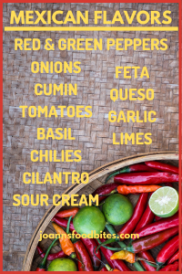 List of Mexican Flavors