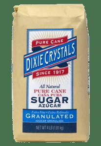 bag of dixie crystals sugar