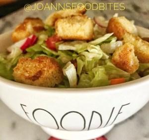 Salad in a foodie bowl