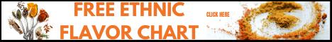 FREE ETHNIC FLAVOR CHART