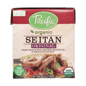 Seitan labeled foods