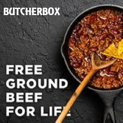 Butcherbox free ground beef for life promo