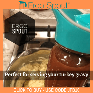 Turkey gravy for Ergo Spout