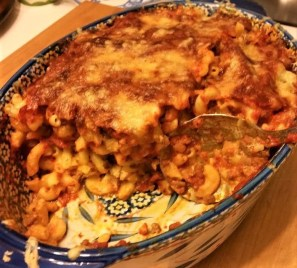 macaroni baked ziti