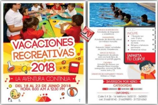 Vacaciones Recreativas 2018
