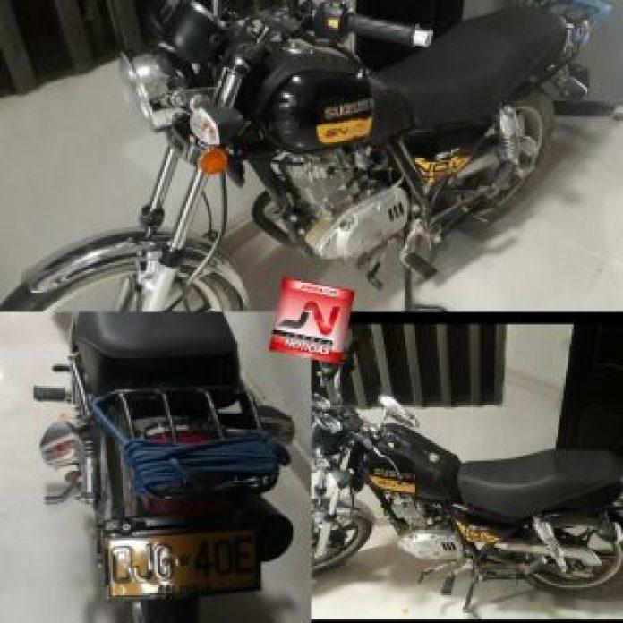 Susuki-GB125-Placa-OJG-40E