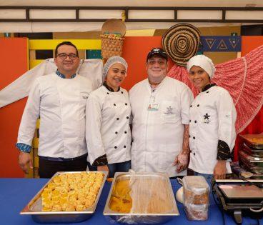 El show de mesa y bar por parte de un instructor SENA de Córdoba fue parte de los atractivos de este evento.