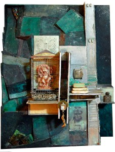 Dark Night of the Soul, Assemblage by Joan Pechanec
