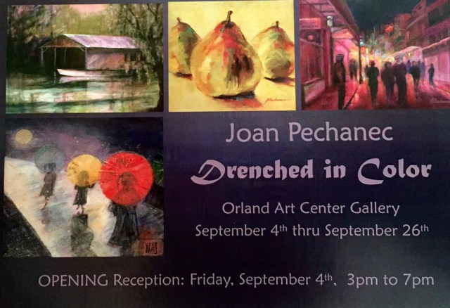 Orland Art Center Solo Show, September 4–26, 2015
