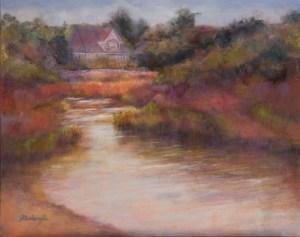 Weeks Bay ~ Original oil painting ~ 16x20 unframed ~ 21x25 framed ~ $450