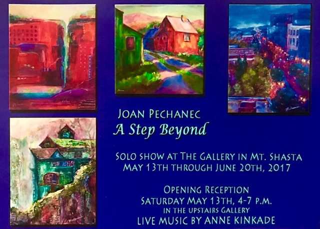 Solo Show at The Gallery in Mt. Shasta