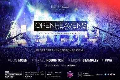 open heavens banner