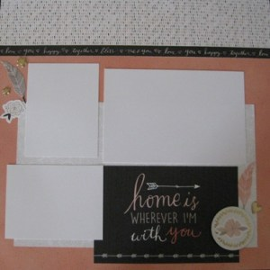 charlotte scrapbook page