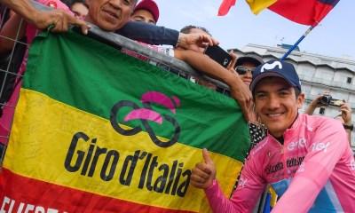 Richard Carapaz ecuatoriano Giro JoanSeguidor