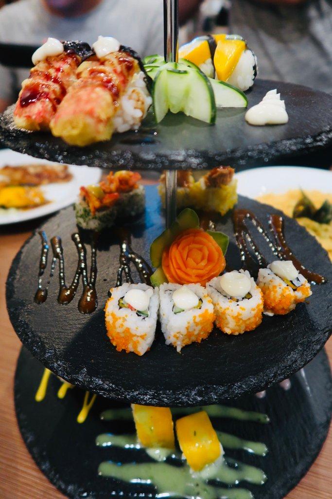 Hodai Restaurant roll tower