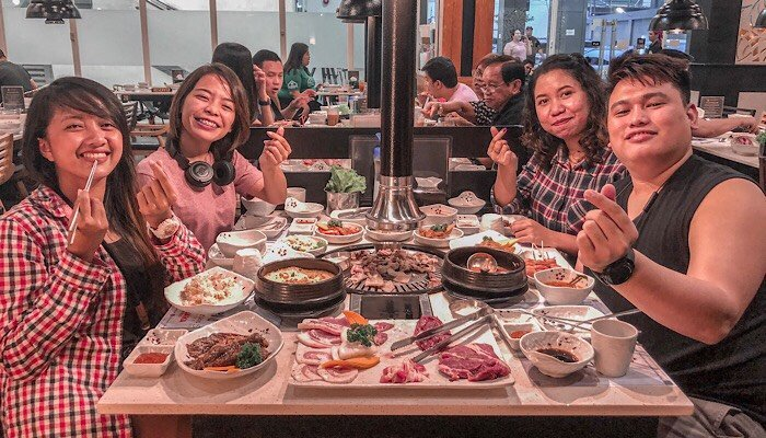 NEW KOREAN RESTAURANT IN Quezon City: FANTASTIC BAKA ABS-CBN
